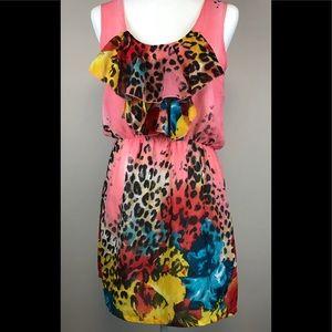 Pinky Multicolored Dress